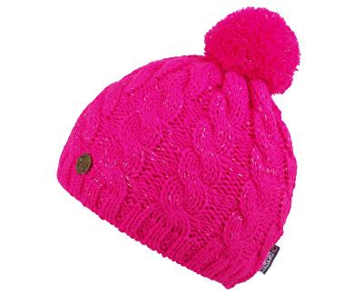 Téli sapka pom-pom Pink 18404-F