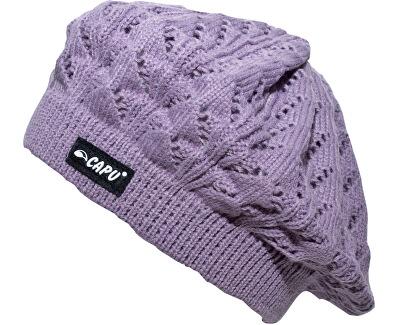 CAPU Zimní čepice Violet 1808-C