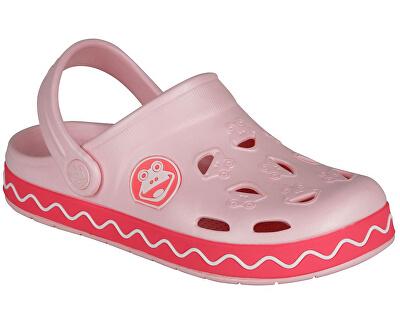 Dětské pantofle Froggy Candy pink/New rouge 8801-407-4142