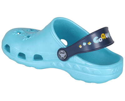 Detské šľapky Little Frog 8701 Blue / Navy 8701-100-1821