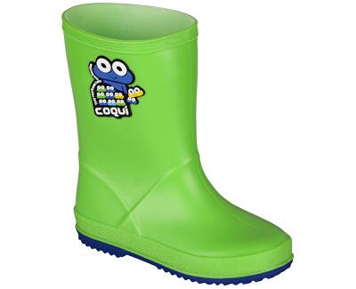Dětské holínky Rainy Lime/Blue 8505-100-1450