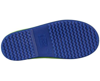 Detské gumáky Rainy Lime/Blue 8505-100-1450
