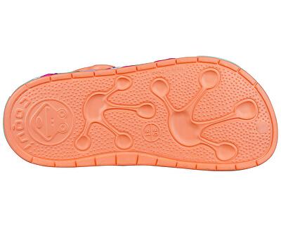 Detské šľapky Froggy Coral Heart s 8802-402-6044