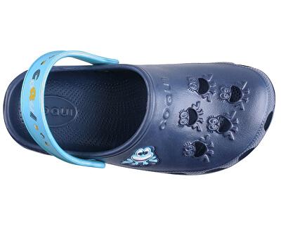 Detské šľapky Little Frog Navy / Blue 8701-100-2118
