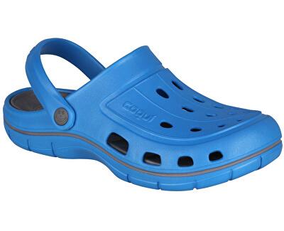 Pánske šľapky Jumper Sea Blue/Dk.Grey 6351-100-4725
