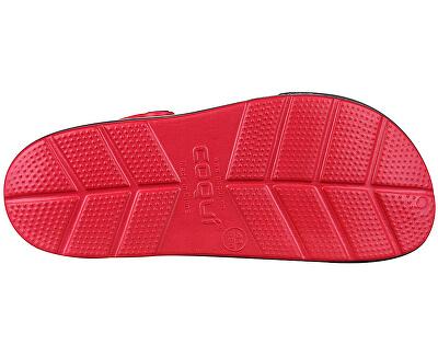 Pánske šľapky Lindo Red/Antracit 6403-100-0924