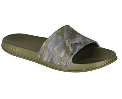 Pánské pantofle Tora Army Camo 7081-203-2600