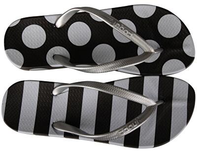 Női Kaja Print ed Black / White Dots És Stripe s 1327-215-2299
