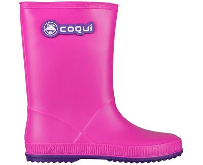 Coqui Detské gumáky Rainy 8506 Fuchsia/Purple 102467