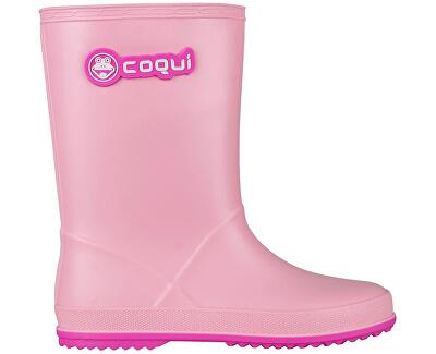 Coqui Detské gumáky Rainy 8506 Pink/Fuchsia 102472