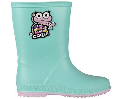 Detské gumáky Rainy Mint/Candy Pink 8505-100-4441