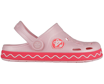 Coqui Detské šľapky Froggy 8801 Candy pink/New rouge 101971