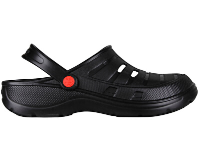 Pánske šľapky Kenso Black 6305-100-2200