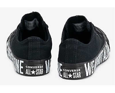 Tenisky Chuck Taylor All Star Black / White / Black