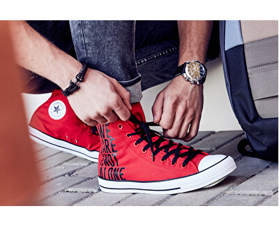 Tenisky Chuck Taylor All Star Enamel Red/Black /White
