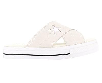 Dámské pantofle One Star Sandal Bone