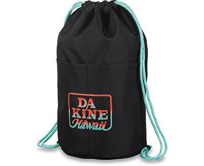Dakine Sac sport Cinch Pack 17L Black Tropical 10001434-W18