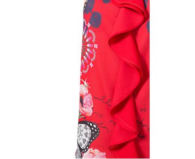 Dámská halenka Blus Ginebra Roja Roja 19SWBW91 3061