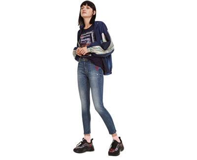 Dámske džínsy Denim Tibetan Boyfriend Jeans VAQUERO 19WWDD35 5053