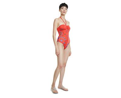 Dámské jednodílné plavky Biki Creta Rojo Clavel 20SWMK14 3036