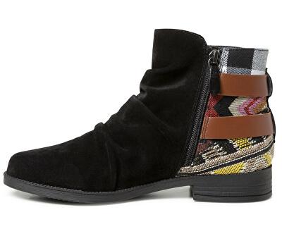 Dámske členkové topánky Shoes Ottawa Patch Negro 19WSAL01 2000