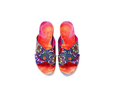 Dámské pantofle Shoes Nilo Multicolor Fucsia 20SSSP05 9021