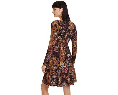 Dámske šaty Vest Cira Negro 19WWVKAE 2000