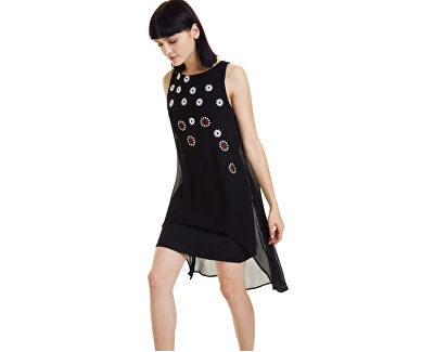 Dámske šaty Vest Cordoba Negro 19WWVW23 2000