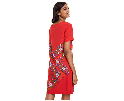 Dámske šaty Vest Damis Rojo Clavel 19WWVW86 3036