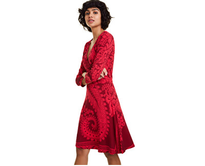 Dámské šaty Vest Marlene Rojo Oscuro 19WWVK50 3029