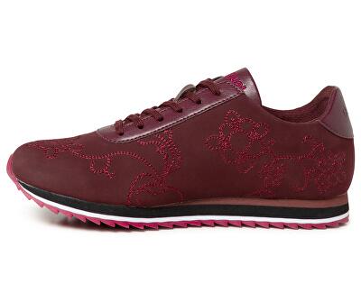 Dámske tenisky Shoes Pegaso Desigu Floral Burdeos 19WSKP18 3006