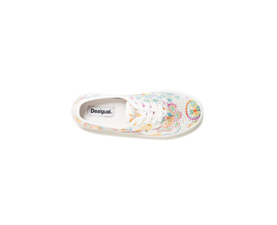 Dámské tenisky Shoes Queen Skull Blanco 19SSKF15 1000