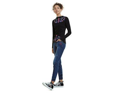 Dámské triko Ts Lauren Negro 20SWTKDA 2000