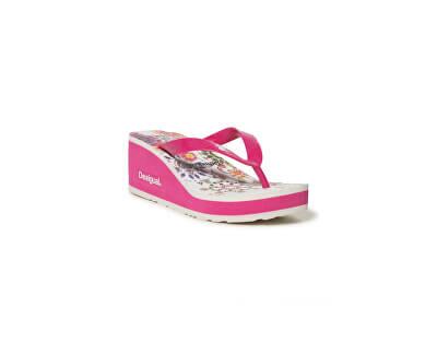 Dámské žabky Shoes Lola Galactic Fuxia Magico 19SSHF18 3062