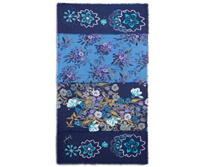Šatka Foul Flower Patch Medieval Blue 19WAWA45 5074