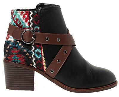 Dámske členkové topánky Shoes Alaska Tapestry Negro 19WSAP04 2000