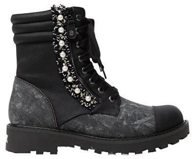 Dámske členkové topánky Shoes Combat Pearl Negro 19WSTP07 2000