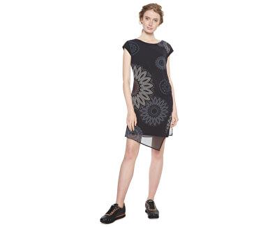 Desigual Dámské šaty Vest Sandrini Negro 18WWVW33 2000 Doprava ZDARMA  d33aff8b2ca