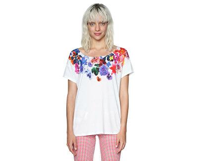 Desigual Dámske tričko Ts Aglaia 18SWTKCQ 1000