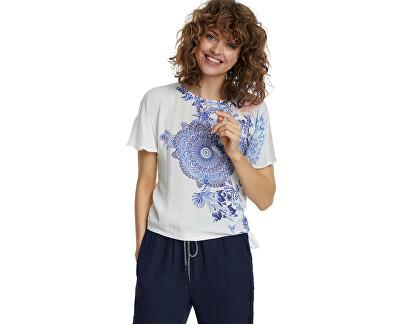 Dámské triko Ts Bruselas Blanco 20SWTKA3 1000