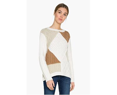 Desigual Doamnelor pulover Jers Mara 17WWJF18 1001