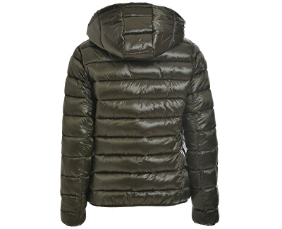 Geacă pentru femei Printed Padded Jacket ReversibB64880 Olive Grey