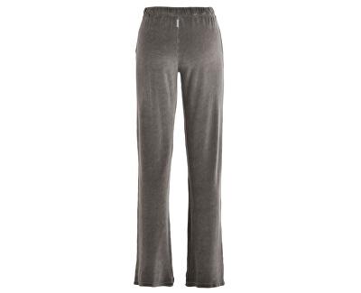 Dámské teplákyVelour Straight Pants B64515 Walnut Brown