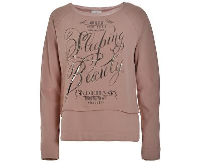 Deha Dámska mikina Double Sweatshirt B84062 Rose Dust