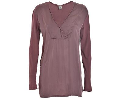 Doamnelor Long maneca T-shirt D63630 Rose Grey