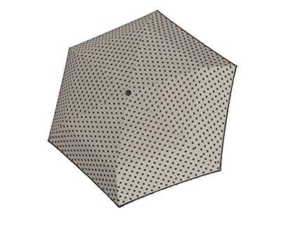 Doppler Doamnelor umbrelă mecanice Hit Micro Dots - gri cu buline 710565PD01