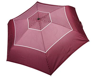 Dámský skládací plně automatický deštník Fiber Magic XS Tricolore červený 747465TR02-hvězdičky