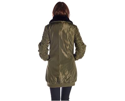 Doamnelor jacheta Rain - Army Jacket BI183F27N30531