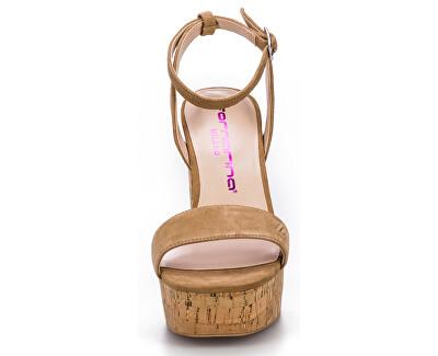 Sandale pentru femei Mina Dark Beige