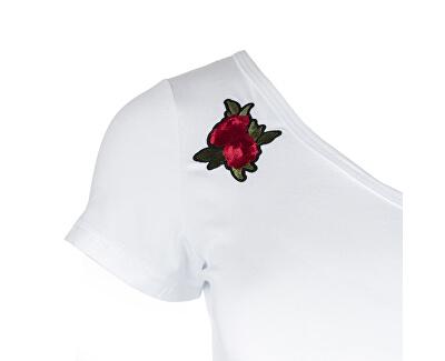 TricouCadence-White T-Shirt pentru femei